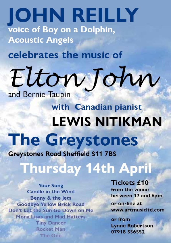 Poster Elton Greystones April 16 2a